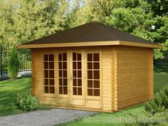 Palmako Anette Log Cabin from Greenhouse Stores with FREE UK home delivery.   http://www.greenhousestores.co.uk/Palmako-Anette-Log-Cabin.htm