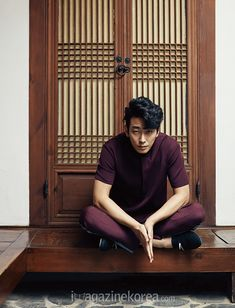 Joo Ji Hoon Settles Back At A Traditional Korean Home With Harper's Bazaar Korea | Couch Kimchi