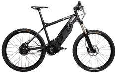 Grace MX. Avant-gardiste electric mountain bike for rapid and stylish runs in rocky trails