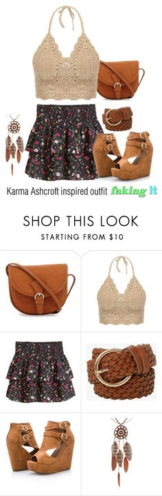 Karma Ashcroft inspired outfit/FI by tvdsarahmichele on Polyvore featuring H&M, Ashley Stewart and Torrid