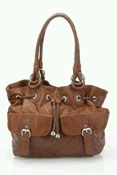BROWN ° handbag