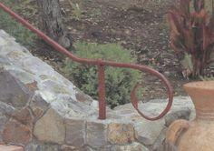 hand forged rail, #napavalley #custom #metal