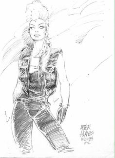 Storm by Arthur Adams Comic Book Artists, Comic Book Characters, Comic Artist, Comic Character, Comic Books Art, Artist Art, Marvel Comics, Marvel Art, Storm Comic