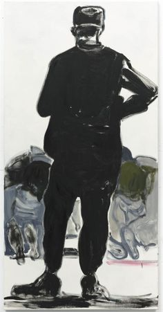 "marlene dumas ""man watching"" 2009"