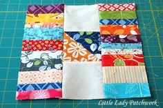 Little Lady Patchwork: STACKS & STACKS QUILT BLOCK