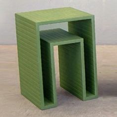 Open Form Side Table