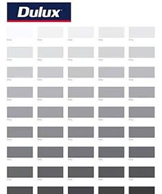 """50 shades of grey isn't so sexy when you put it like that, Dulux. myloveisdrunklove: """" 50 shades of grey… not that hot is it? Dulux Paint Colours Grey, Interior Paint Colors, Light Gray Paint, Light Grey Walls, Grey Bedroom Paint, Bedroom Colors, Wall Colors, House Colors, Gris Taupe"""