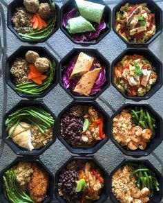 These octagons that are sexy AF. | 23 Meal Prep Photos That Are Almost Too Perfect