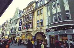 shopping in downtown   Giessen, Germany... So want to go back.