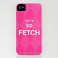 That is so FETCH - quote from the movie Mean Girls iPhone Case