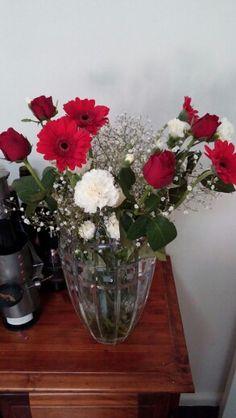 Assorted flowers Glass Vase, Flowers, Home Decor, Homemade Home Decor, Royal Icing Flowers, Flower, Decoration Home, Florals, Bloemen