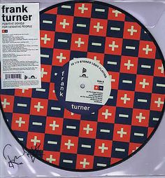 Frank Turner - Positive Songs For Negative People autographed picture disc