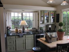 Have you given any thought recently to the look of your windows? Window shutters can be a great addition. If you don't know where to start, here's our guide to choosing the right window shutters. Window Over Sink, Desert Homes, Window Shutters, Big Windows, Mudroom, Home Kitchens, Kitchen Cabinets, Kitchen Ideas, Kitchen Inspiration