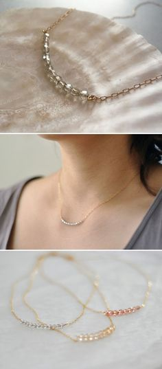 INSPIRATION :: Another easy Etsy necklace idea..