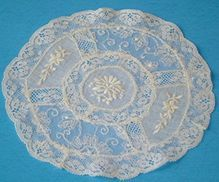 French Normandy Lace Doily