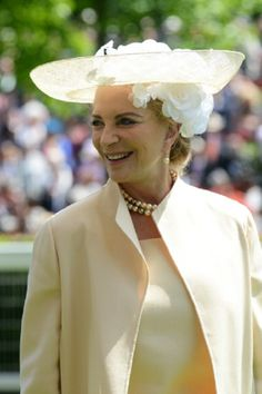 Princess Michael of Kent attends day one of Royal Ascot 2014.