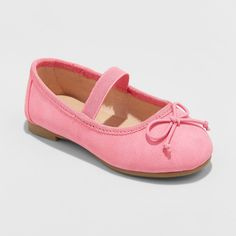 757715db0c14dd The Becca Ballets from Cat   Jack™ are perfect the perfect cute addition to  your girl s footwear collection. These toddler girls  ballet flats feature a