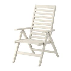 ÄPPLARÖ Reclining chair, outdoor IKEA The back can be adjusted to five different position. Easy to fold up and put away.