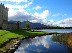 Ross Castle, on the shores of Killarney National Park's lower lake, was built in the 15th century.