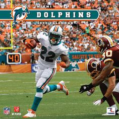 Miami Dolphins Wall Calendar: Specially designed for the die-hard Miami Dolphins fan, Turner Licensing presents the ultimate 2013 NFL wall calendar!