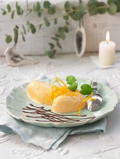 Feine Orangen-Mousse