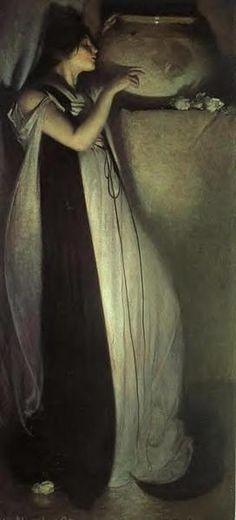 John White Alexander, Isabella and the Pot of Basil, 1897.