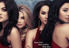 Ashley Benson & Troian Bellisario Slam Pretty Little Liars, Season 4B Poster