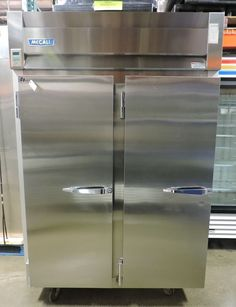McCall 4045C Commercial Two Section Reach-In Refrigerator  #McCall