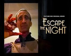 Poor Sampson in ESCAPE THE NIGHT.  See what happens to him in the trailer at https://youtu.be/hnzbKq5Y9https://youtu.be/hnzbKq5Y9W0