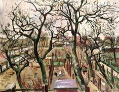 Orchard in Winter Lovis Corinth - 1912