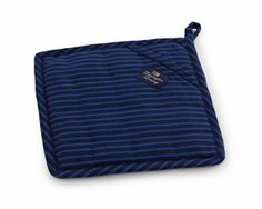 Lexington Company Blue Striped Potholder  | Table + Dine #lexingtoncompany #summer #kitchen #potholders #stripes