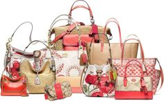 How do you style your Coach bags for Spring?