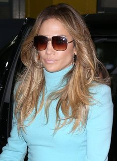 b6d2df1d182 Jennifer Lopez Feathered Flip - Jennifer Lopez was spotted out in NYC  wearing a fabulous feathered flip.