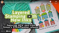 Layered Stamping with New Inks + STAMPtember 2021 Blog Party! | Nina-Marie Design Cards For Friends, Friend Cards, Simon Says Stamp, Diy Cards, The Creator, Layers, Sayings, Funny, Party
