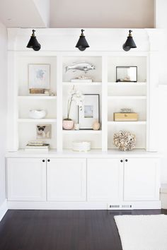 Spring Home Tour Week One: Doreen Corrigan (Centered By Design) Living Room Shelves, Decor, Home And Living, Home Living Room, Interior, Coastal Living Rooms, House, House Interior, Living Room Storage