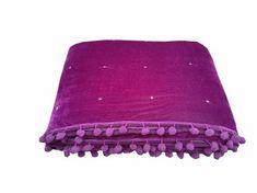 Purple Bedspread, Purple Comforter, Baby Comforter, Cotton Bedding, Homemade Quilts, Velvet Quilt, Purple Baby, Twin Quilt, Queen Quilt