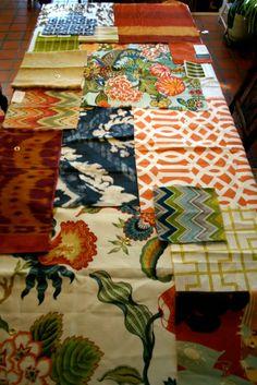 lee+jofa+fabrics+schumacher+fabrics+hot+house+imperial+trellis+celerie+kembel+david+hicks+chiang+mai+dragon.jpg 853×1,279 pixels    I am in love with this fabric combination