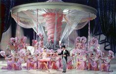 "On the Set of ""Ziegfeld Follies"""