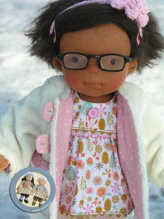 Teri - waldorf inspired cloth doll by Lalinda.pl