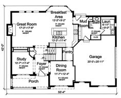 great house, mud room, pantry, awesome master suite