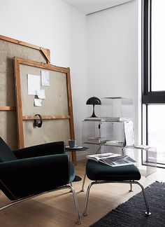 The Danish Home, ESNY's Continental Apartment furnished with danish brands - via Mur-Beton Design blog