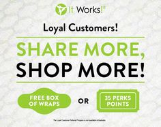 Have you ever considered joining our Loyal Customer Program and try our products at wholesale pricing?? Well, we're taking that to a #wholenottalevel and offering FREE BOXES OF WRAPS in your first 30 days! Ask me how: info@lenesbodywraps.com