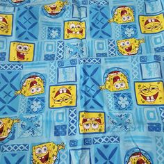 Check out this item in my Etsy shop https://www.etsy.com/listing/287709681/spongebob-square-pants-fabric