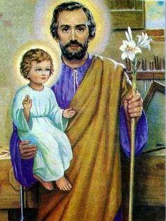una vida católica en construcción: Fiesta de San José - 19 de marzo
