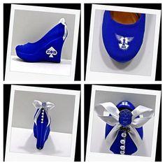 zeta+phi+beta+heels | Ace1920 wedges royal blue zeta phi beta @MS. MaryMac (msmarymacshoes ...