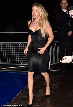 Ellie Goulding dazzles at Universal BRITs after party | Daily Mail Online