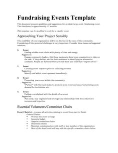 fundraising event budget spreadsheet excel - Google Search