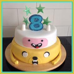 Finn en Jake taart