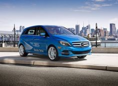 2014 Mercedes-Benz B-Class Electric Drive: Powered by Tesla Motors technology