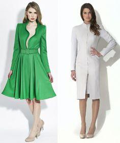 "Catherine Walker (Custom) Skirt from the ""Evelyn"" Dress and Bodice from the ""Lara"" Coatdress -- 04/24/14 Australia"